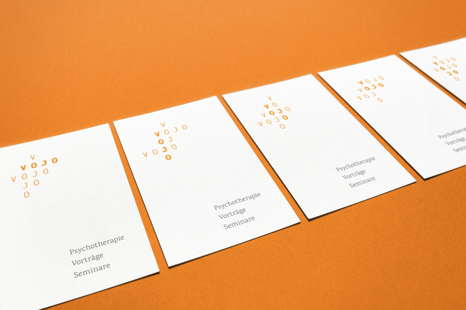 corporate design for vojo by Christina Hosiner