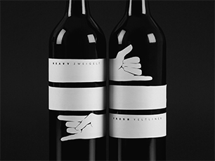 Bold expressions for bold wine.